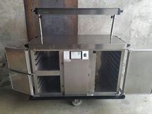 Carrello scaldavivande piatti Rieber RST-1-230V