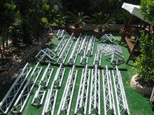 Traliccio triangolare in alluminio americana litec tx 25