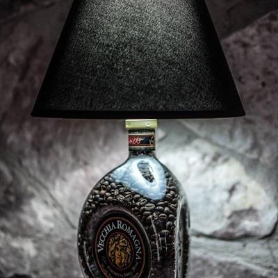 Lampade su bottiglie